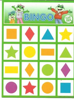 * Bingo vormen! 3-4