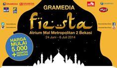 Gramedia: Promo Fiesta Harga Mulai 5.000 + Diskon Menarik @gramediabooks
