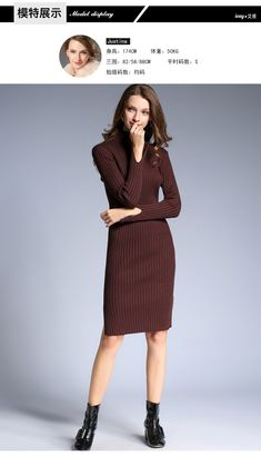 8de2437e6a4b With Belt Turtleneck Knitted Sweater Dress Women 2018 Autumn Winter Robe  Hiver Long Sleeve Office Knee-Length Bodycon Dress free shipping worldwide
