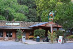 Sedona- Indian Gardens Deli-- closes at 5pm-- gourmet sandwiches-- nice outdoor area--4 miles north of Sedona
