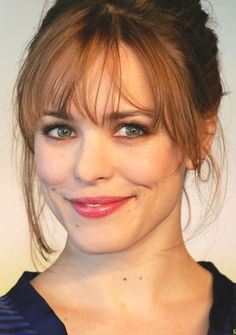 Rachel McAdams - possibly my favorite actress ever, love her smile so much