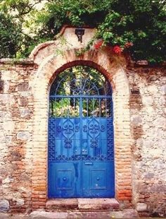 Blue Gate; San Miguel De Allende, Mexico by thomas mayberry (Mayberry) ~  x