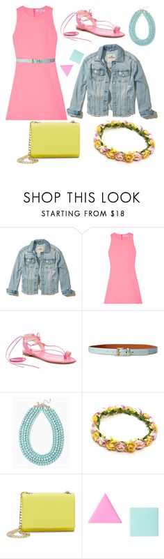 """Easy Outfitting: Throw and Go Dresses"" by sevval6661 ❤ liked on Polyvore featuring Hollister Co., Elizabeth and James, Stuart Weitzman, Lauren Ralph Lauren, Vince Camuto and George J. Love"