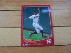 Justin Maxwell 2013 Topps 178 Target Red Border Parallel Card Houston Astros | eBay