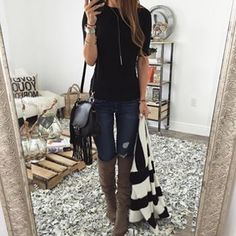 tuesday basics // tyler top + okana boots + sydney crossbody