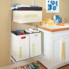 Label a Laundry Room