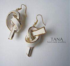 Tana / Tana šperky-keramika, zlato, UZLE