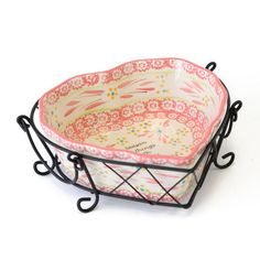 temp-tations® Old World Sentiment Heart Baker in Hot Pink :: temp-tations® by Tara