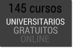 Cursos universitarios gratis online