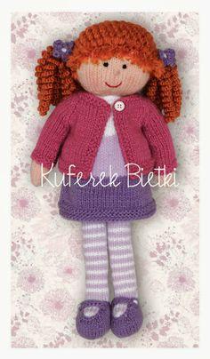 Gehäkelte Puppe / Crochet Doll *** Kuferek Bietki                                                                                                                                                                                 Más