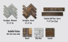 Peel and stick real barn wood wall covering. Awesome!! Kitchen island?