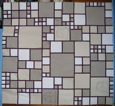 This is a versatile pattern which is great for making out of leftover jeans but can also be used with regular quilting fabric or as a memory quilt. The quilt includes two sizes and once you have tried out the pattern you will see all the ways you can adjust it to make the perfect quilt for you! For more pictures you can go to flickr: https://www.flickr.com/photos/lucysquilts/albums/72157621904549139 or my blog: http://lucysquilts.blogspot.com/ If...