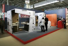 Exhibition Stand Design | Construmat 2005 | Ferrolan Lab #wall #pattern