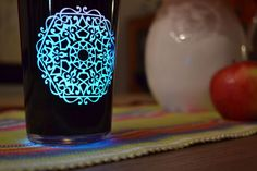 Airwick Multicolour Black Edition Candle - glows all the colours of the rainbow