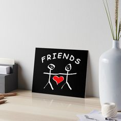 Love You Friend, Velcro Dots, Friend Friendship, Watercolor Texture, Couple Shirts, Art Boards, Print Design, Finding Yourself, How To Apply