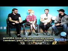 Em sua passagem pelo México, em 15 de julho, o Especial Telehits conversou com o trio. Assista a entrevista: