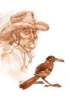 Carlos Castaneda - Los 4 enemigos del Ser humano Carlos Castaneda, Native Tattoos, Don Juan, Sculpture, Deviantart, Erotica, Magick, Storytelling, Creations