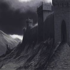 In the northern reaches of the Misty Mountains lies Carn Dûm, the fortress of the Witch-king of Angmar. Bent upon the destruction of the Northern Kingdom, from this castle he sent his armies to destroy the Dunedain.