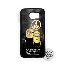Buy Brand New Minion Divergent Funny Cartoon At Low Prices And High Quality! Show off your personal style by protecting your iPhone with a custom case from VISTACUSTOMS! Whether you're looking for a c