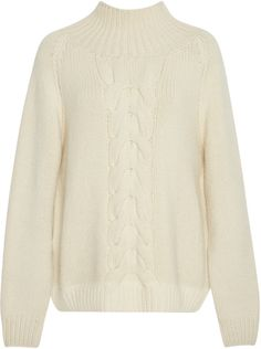 Shop Now - >  https://api.shopstyle.com/action/apiVisitRetailer?id=642697220&pid=uid6996-25233114-59 Vilshenko Cable-Knit Wool and Cashmere Sweater  ...