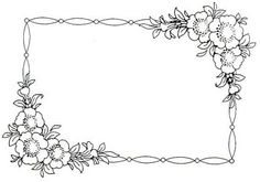 Embroidery Pattern Wreath Drawing, Arabic Art, Embroidery Patterns, Stationary, Frames, Tapestry, Wreaths, Pillows, Drawings