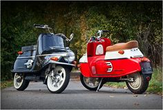 A Cezeta era originalmente uma lambreta com um motor dos anos 60 fabricado na República Checa, agora para marcar renascimento da empresa eles trouxeram à vida uma nova versão elétrica, construída à mão, da sua popular lambreta. A Cezeta