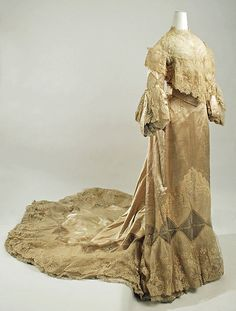 Wedding ensemble Date: 1902 Culture: American Medium: silk, cotton Accession Number: C.I.50.111a–i