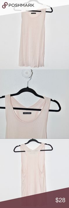••david lerner baby pink swing longline tank•• •brand: David Lerner from Revolve clothing   •size: small  •condition: like new   •features:      •super soft baby pink fabric      •racerback with large, dropped arm holes      •long and relaxed fit David Lerner Tops Tank Tops
