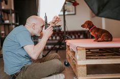 Get a behind the scenes look at a Mutley's Snaps studio pet photography session showing how we capture your dogs personality in a vibrant and unique style.