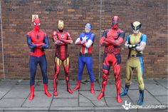 Group costume inspiration: The first rule of being a Marvel superhero is high quality spandex, and at MorphCostumes, we can offer you that and so much more...