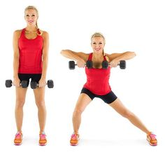 side lunge row
