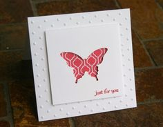 Stampin Up Elegant Butterfly Punch Cards 2