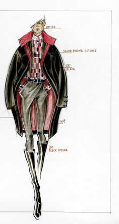 Fashion Illustration/Paul Keng Copic