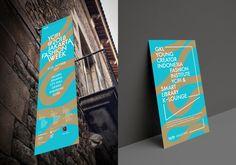 디자인퍼플 Jakarta Fashion Week, Event Branding, Identity, Sandbox, City, Cover, Editorial, Litter Box, Sand Pit
