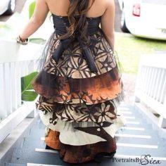 Love this Polynesian inspired DIY dress
