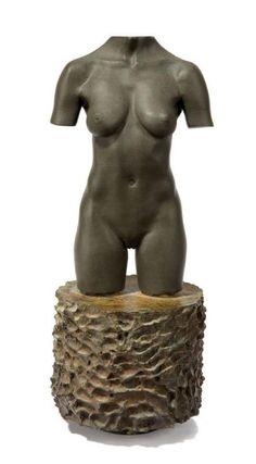 Robert Graham. MOCA torso, 1992. Bronze