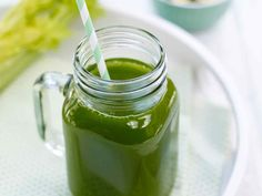 Celery, cucumber and spinach juice Spinach Juice, Celery Juice, Remedies For Nausea, Natural Remedies, Juice Smoothie, Smoothies, Cucumber Juice Benefits, Natural Health Magazine, Juicer Recipes