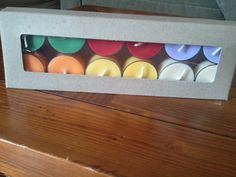 One Dozen Assorted Tea Light Candles You Choose Scents: Pure Soy