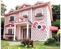 Kitty-!! le rêve de toutes les petites filles : la maison en vraie !!