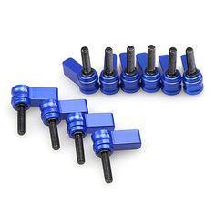 Blue Ratchet Wingnut w/ M5 thread 10pcs pack 1181 - CoolLCD