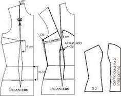 Resultado de imagen para moldes corset para vestidos 15