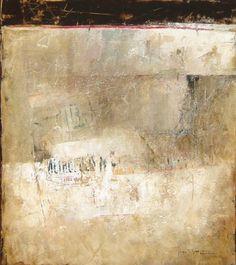 "Ode to Rauschenberg, n.d., Jim Pittman, acrylic on canvas, 48 x 42, Boulder Colorado, USA. ""Landscape Minimalist"""