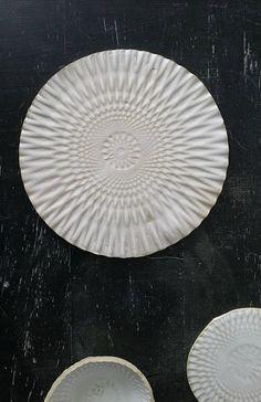 Matt White Handmade Ceramic Plate | Lukkili on Etsy