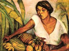 Tropical - Anita Malfatti,1917[Acervo Pinacoteca do Est.S.Paulo]