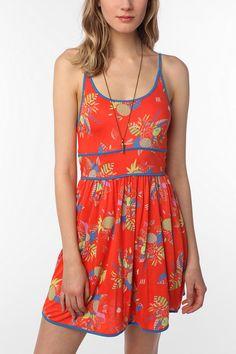 Cooperative Knit Citronella Sundress  #UrbanOutfitters
