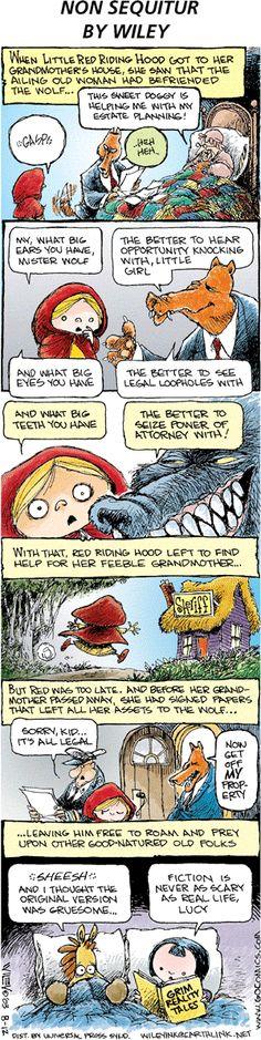 Classic tales--reimagined Non Sequitur Comic Strip, August 12, 2007 on GoComics.com