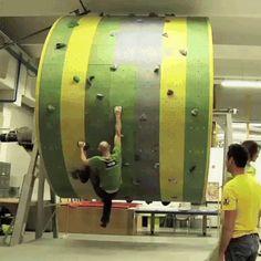 Special simulator for climbers