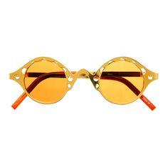 #cool #steampunk #retro #vintage #gold #metal #circle #round #sunglasses #unique #retro #vintage #fashion