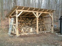 Build a Shed on a Weekend - Our plans include complete step-by-step details. If you are a first time builder trying to figure out how to build a shed, you are in the right place! Firewood Shed, Firewood Storage, Shed Construction, Wood Storage Sheds, Build Your Own Shed, Wood Shed Plans, Backyard Sheds, Metal Pergola, Pergola Kits