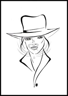 Female hats by ELRO66.deviantart.com on @DeviantArt